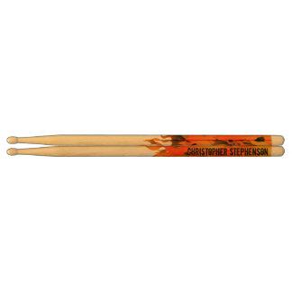 flame drumsticks flame drum stick designs. Black Bedroom Furniture Sets. Home Design Ideas