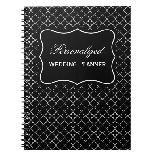 Wedding Planner Names Ideas: Personalized Name Wedding Planner Spiral Notebook