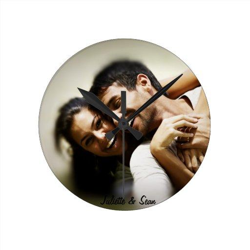 Personalized Photo Clock Zazzle