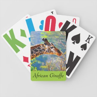 Personalized Photo Deck of Cards with HUGE NUMBERS