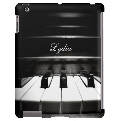 personalized piano keyboard music ipad case zazzle. Black Bedroom Furniture Sets. Home Design Ideas