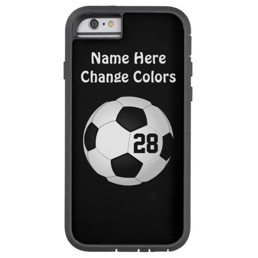 Personalized Soccer IPhone 6S Cases, Your Colors Tough