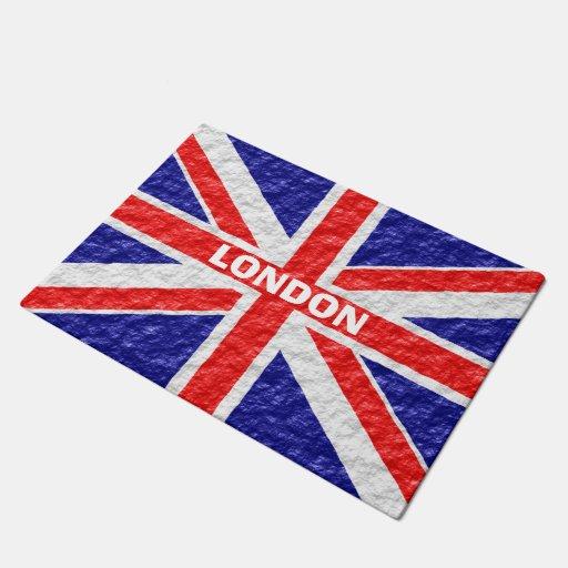 Personalized Union Jack Flag Design Doormat Zazzle