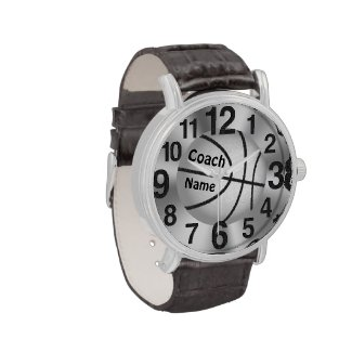 "Personalized Watches for Coaches ""Coach"" and NAME"