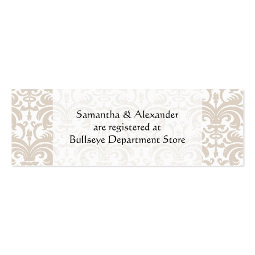 Awesome Registry Inserts For Wedding Invitations And