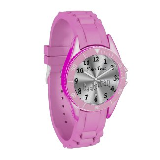 Personalized Womens Watches, Basketball Watches