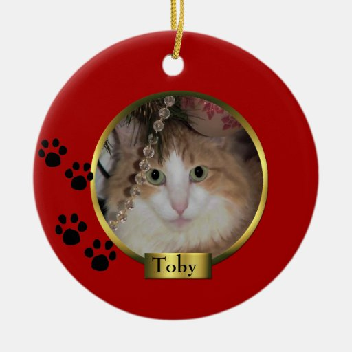 Pet Christmas ornament | Zazzle