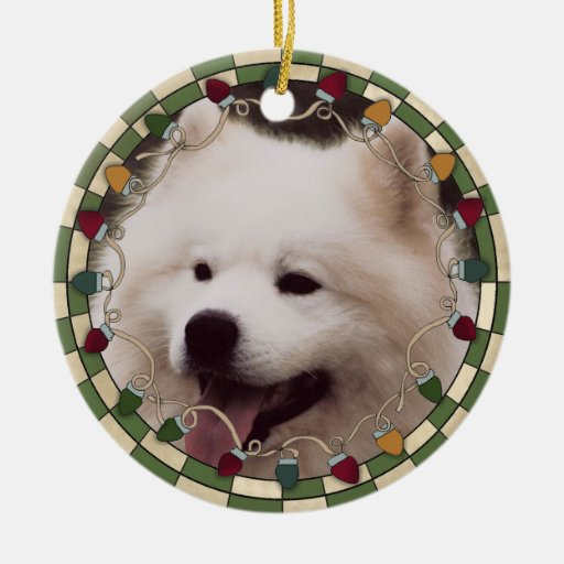 Pet Dog Photo Christmas Ornament | Zazzle