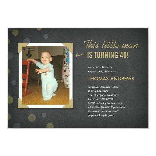 Surprise Adult Birthday Invitations 106