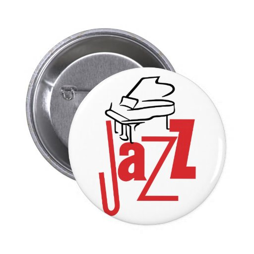 Piano Jazz Round Button