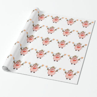 Cowboy Wrapping Paper Zazzle