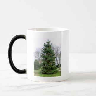 Pine Tree Morphing Mug mug