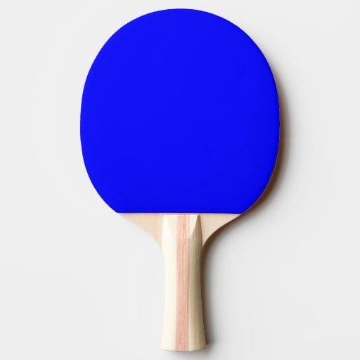 Ping Pong Table Tennis Bat Paddle Blue Zazzle