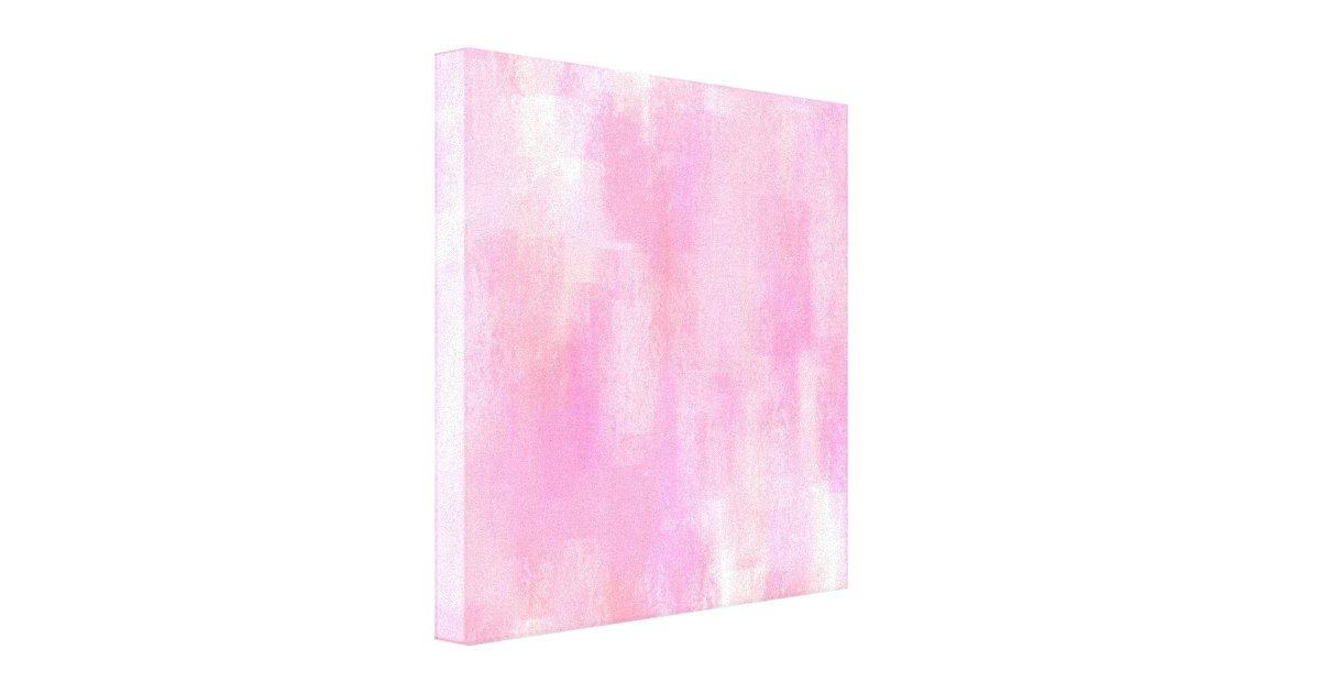 Pink Abstract Canvas Art: Pink Abstract Digital Painting Canvas