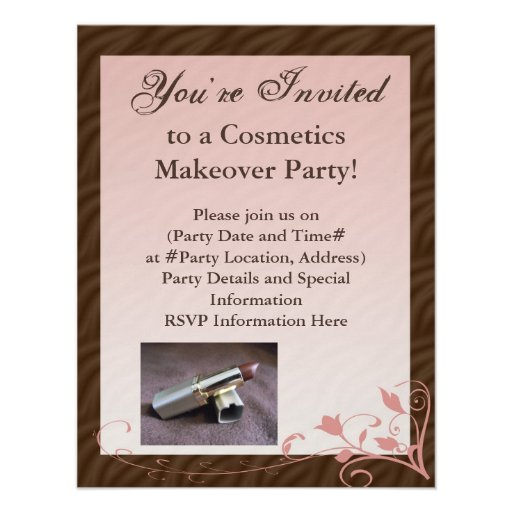 Mary kay invitation free joy studio design gallery for Mary kay invite templates