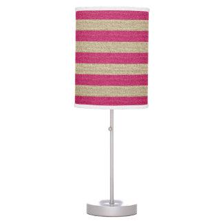 Pink Glitter Table Amp Pendant Lamps Zazzle