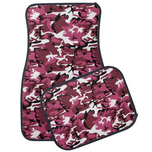 Pink Camo Floor Mat Zazzle