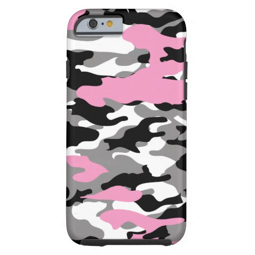 Pink Camo Phone Case For Iphone C