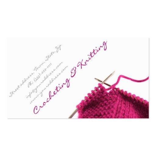 Knitting business plan template