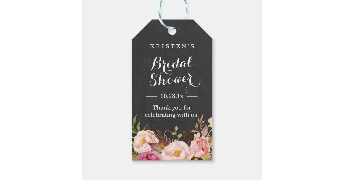 Wedding Shower Thank You Gifts: Bridal Shower Thank You Gift Tags