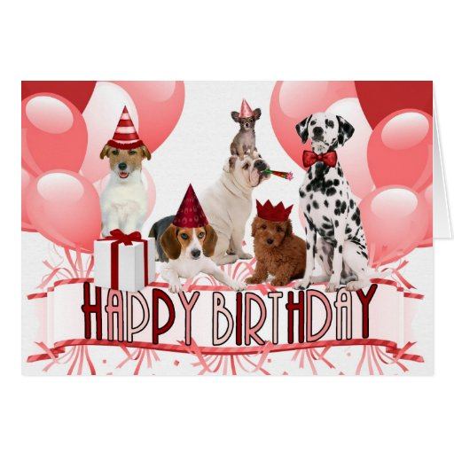 happy birthday funny dog card - photo #34