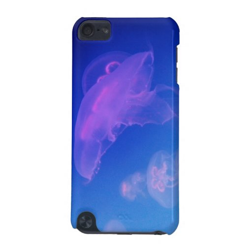 Pink jellyfishes in blue water iPod touch (5th generation ...