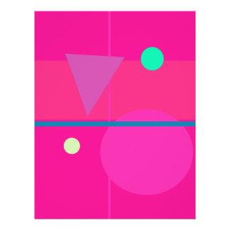 Pink Math Flyers
