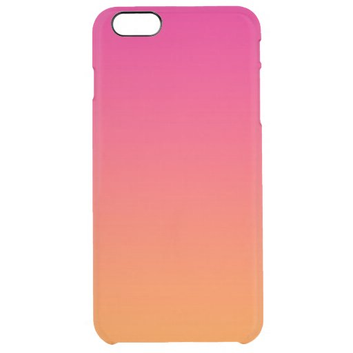 Clear Ombre Iphone Case