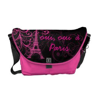 la tour eiffel bags handbags zazzle. Black Bedroom Furniture Sets. Home Design Ideas