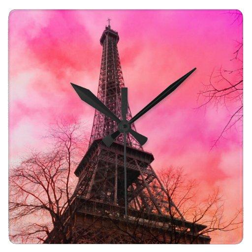 eiffel tower paris pink - photo #39