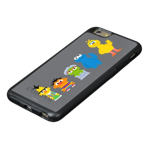 Pixel Sesame Street Characters OtterBox IPhone 6/6s Plus