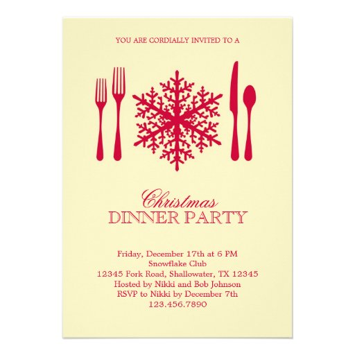 Dinner Party Invitations: T-Shirts, Art, Posters & Other Gift