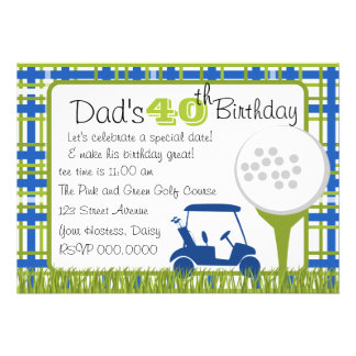 39 golf fathers day invitations golf fathers day. Black Bedroom Furniture Sets. Home Design Ideas