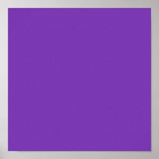 Plain Purple Background Poster | Zazzle