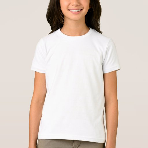 This solid white T-shirt for toddler girls goes well with all types of bottoms and can be layered under hoodies or jackets when the cooler weathers starts to set in. perfect tee for self decoration.