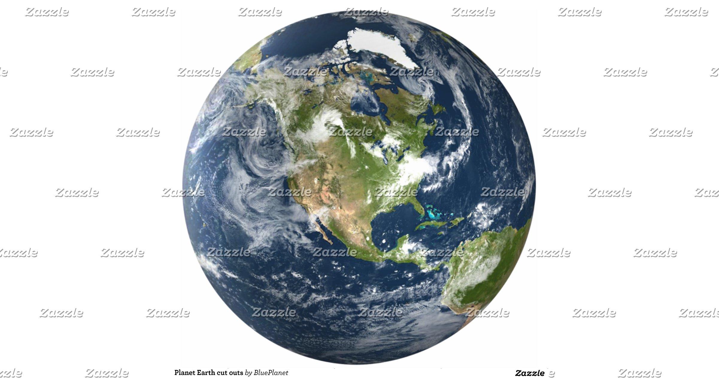 earth planet cutouts printables - photo #27
