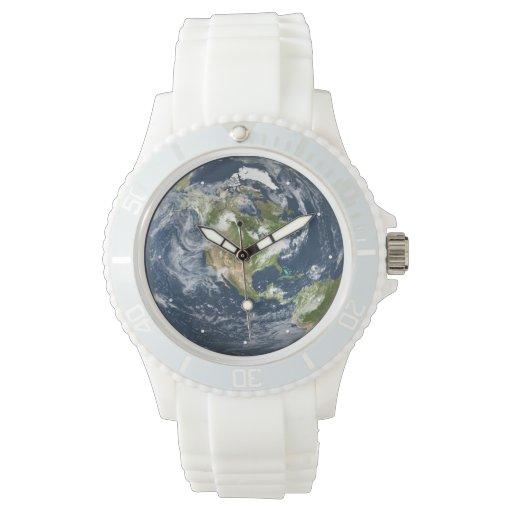 Planet Earth World watch | Zazzle