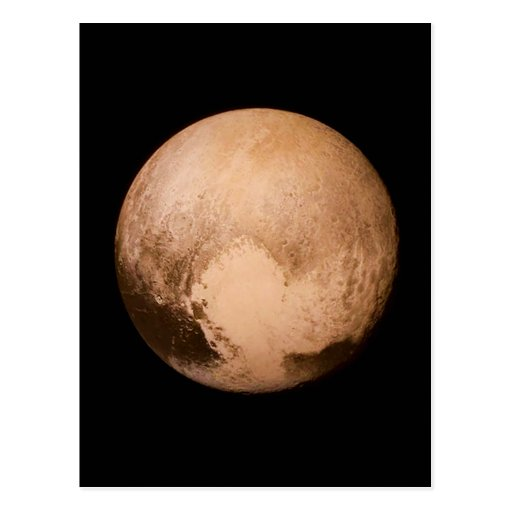 PLANET PLUTO - HAVE A HEART! (solar system) ~ Postcard ...