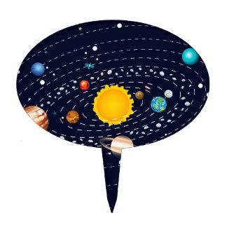 solar system cake toppers - photo #20