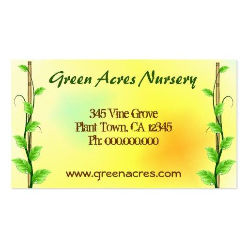 Plant nursery business plan template