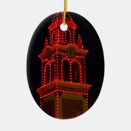 Plaza Lights Of Kansas City! Ceramic Ornament