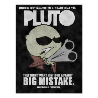 Pluto: The Movie Posters