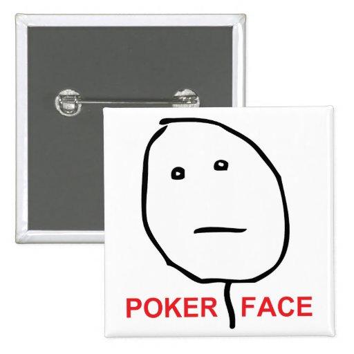 Poker Face Rage Face Meme Button   Zazzle