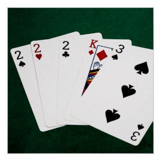 Poker 3 Of A Kind