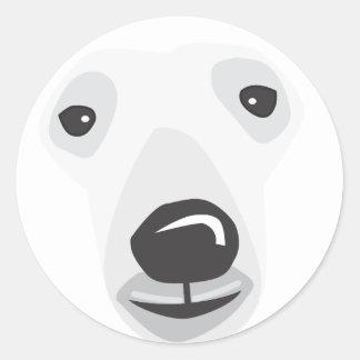 polar bear face template - polar bear gifts on zazzle