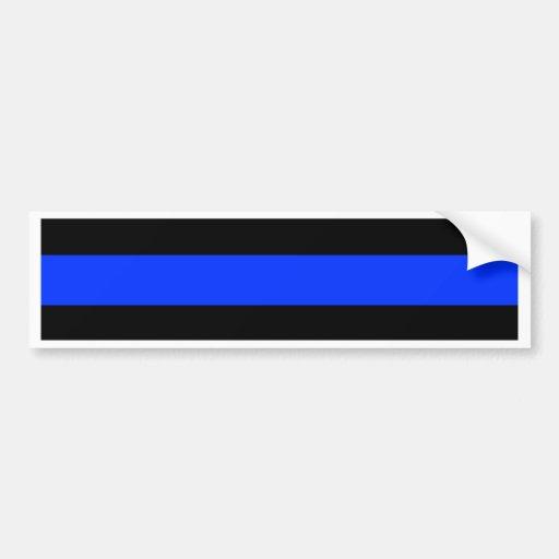 Thin Blue Line Police Sticker 117