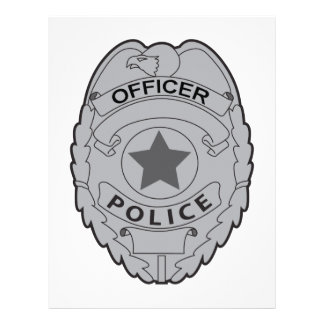 Police letterhead custom police letterhead templates for Police patch design template
