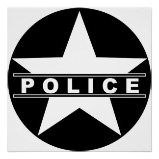 Police Department Posters | Zazzle