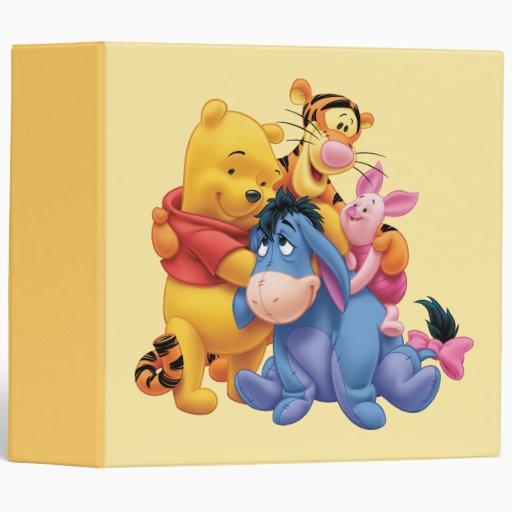 Pooh & Friends 5 Binder