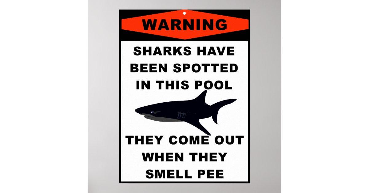 Pool shark warning poster r35551ac84c6a445eb5ef709fc7ab54f2 wv4 8byvr 630